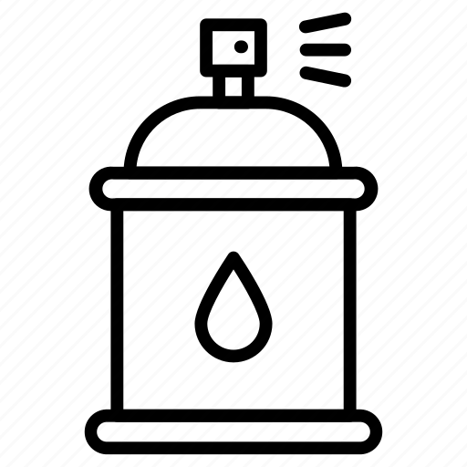 Bottle, spray, can, paint, graffiti icon - Download on Iconfinder