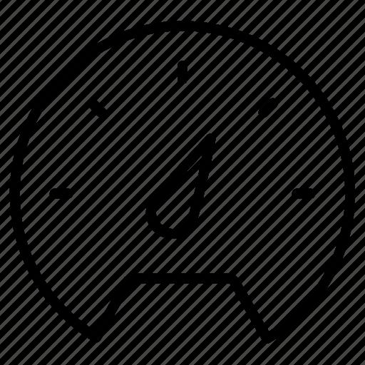 Meter, pressure, indicator, gauge icon - Download on Iconfinder