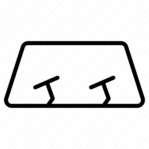 Windscreen, glass, front, car icon - Download on Iconfinder