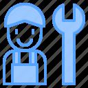 auto, car, mechanic, repair, service, work, workshop icon