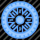 auto, car, mechanic, service, tire, work, workshop icon