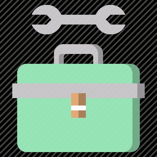box, construction, improve, improvement, settings, tools icon