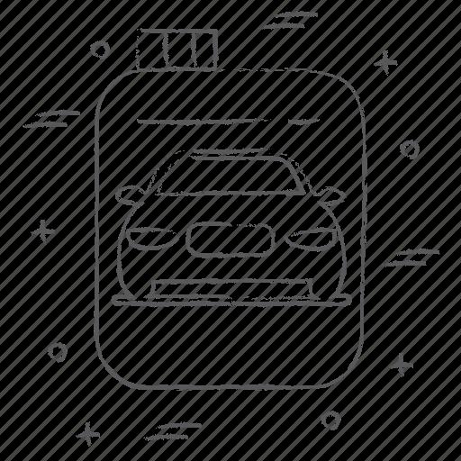 bottle, car, engine, oil, service, transport icon