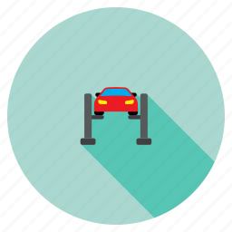 car elevator, equipment, lift, repair, service, transportation, vehicle icon