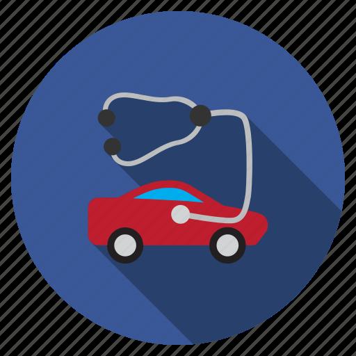 car, check, health, healthcare, medical, medicine, test icon