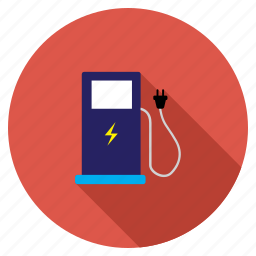 battery, electric, electrical, electricity, energy, power, station icon