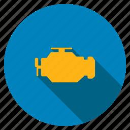 application, engine, gears, machine, mechanic, process, software icon
