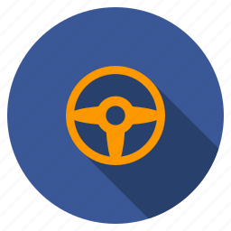 auto, car settings, control, driver, gear, steering wheel, transport icon