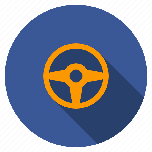 Auto, car settings, control, driver, gear, steering wheel, transport icon - Download on Iconfinder
