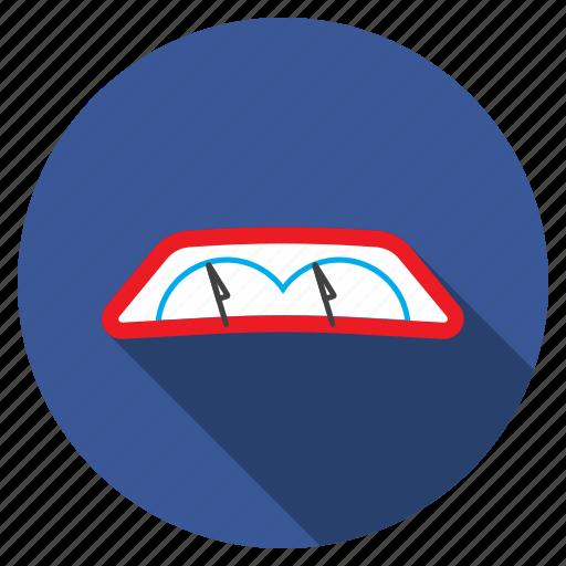 auto, car, part, vehicle, window, windscreen wiper, windshield icon