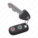 auto, automobile, car, cartoon, control, key, remote icon