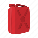 can, cartoon, container, fuel, jerrycan, liquid, petrol icon