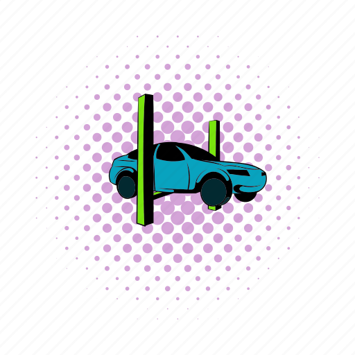 bumper, car, check, hoist, jack, lift, lifting icon