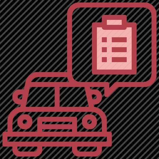 Clipboard, automobile, service, record, car icon - Download on Iconfinder