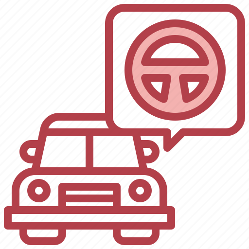 Steering, wheel, transportation, automobile, driving, car icon - Download on Iconfinder