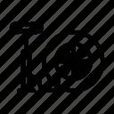 car, pressure, pump, tool, tyre icon icon