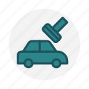 body shop, car, car painting, color, paint, repair, vehicle icon icon