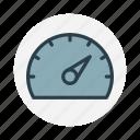 car, gauge, indicator, odometer, speed, speedometer, tool icon icon
