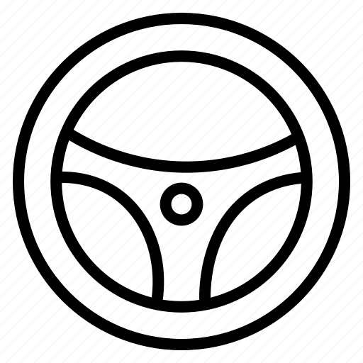 car parts, car service, control, controller, driving wheel, race, steering wheel icon