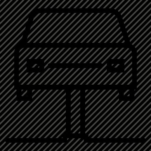 airbrush, automobile service, car lift, car repair, car service, car wash, garage icon