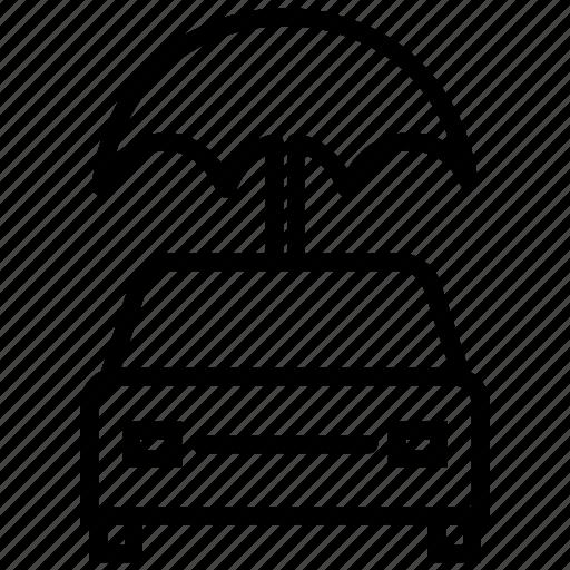 auto insurance, car insurance, car protection, insurance, protection, umbrella, vehicle insurance icon