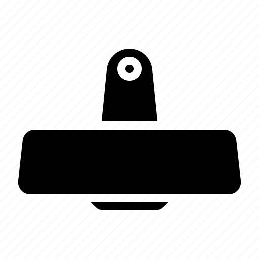 mirror, part, rear, view icon