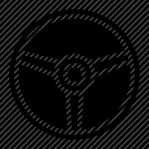 horn, part, steering, wheel icon