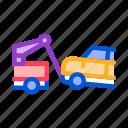 car, escape, machine, theft, truck