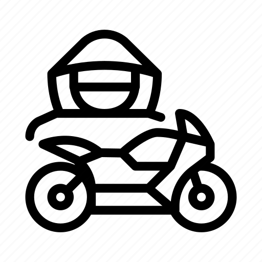 car, driver, motorcycle, theft, transport icon
