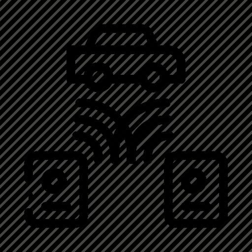 car, code, grabber, theft icon