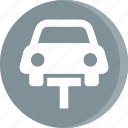 automobile, car, garage, service, servicing, vehicle icon