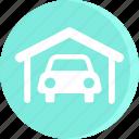 automobile, car, garage, service, servicing, vehicle icon