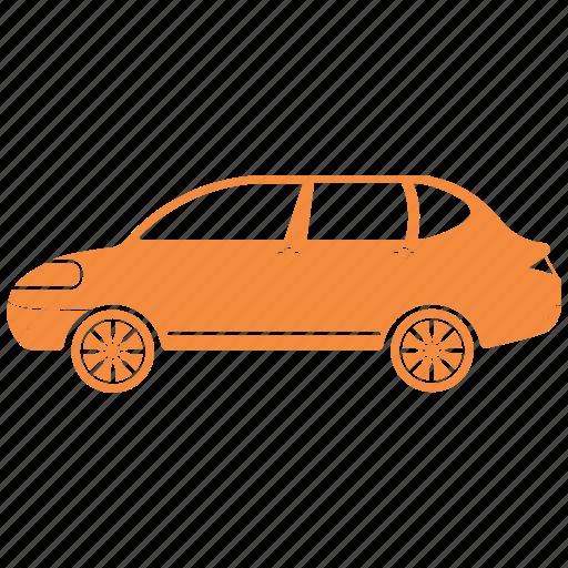 car, exhaust, fumes icon