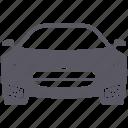 automobile, car, sports car icon