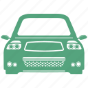 car, front, transportation, vehicle icon
