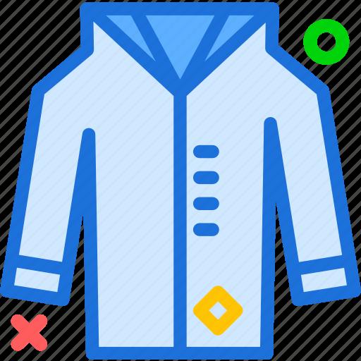 jacket, leather, long, winter, wintercoat icon