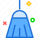 broom, clean, house icon
