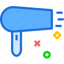 bath, device, drop, dry, hairdry, shower, water icon