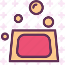 bath, clean, showerbubbles, soap, wash icon