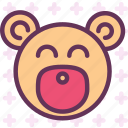 bear, kid, puppy, toy icon