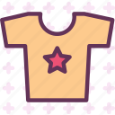 kid, star, summer, tshirth icon