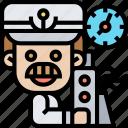 captain, ship, sailor, commander, nautical