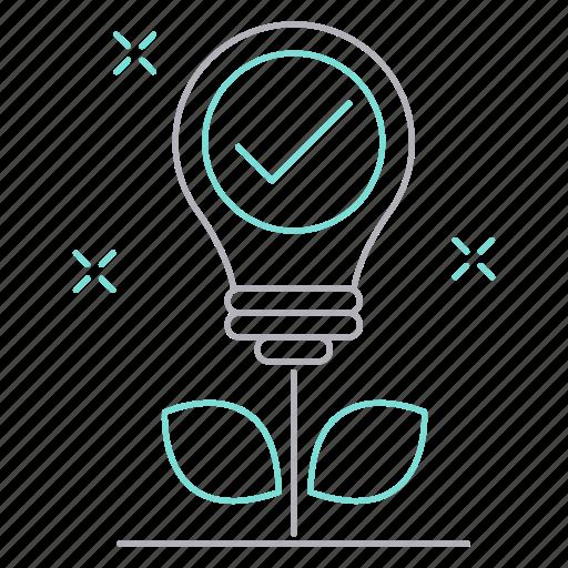 career, growth, idea, motivation icon