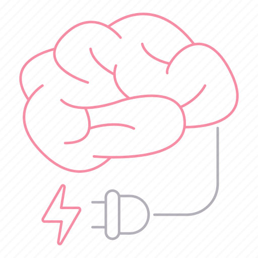 brain, career, energy, mind, power icon
