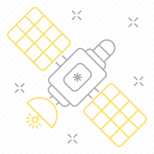 gps, pioneer, satellite, space icon