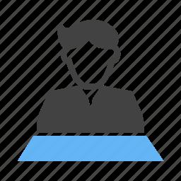 anchor, chanel, journalist, news icon