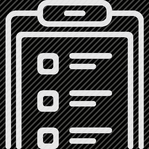 checklist, list, task, tender, список, тендер icon