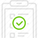 checklist, good, list, tender, задачи, список, тендер icon