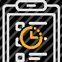 checklist, list, tender, waiting, задачи, список, тендер icon