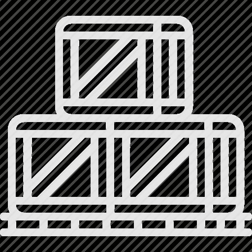 boxes, cargo, shipment, коробки, перевозка, ящики icon